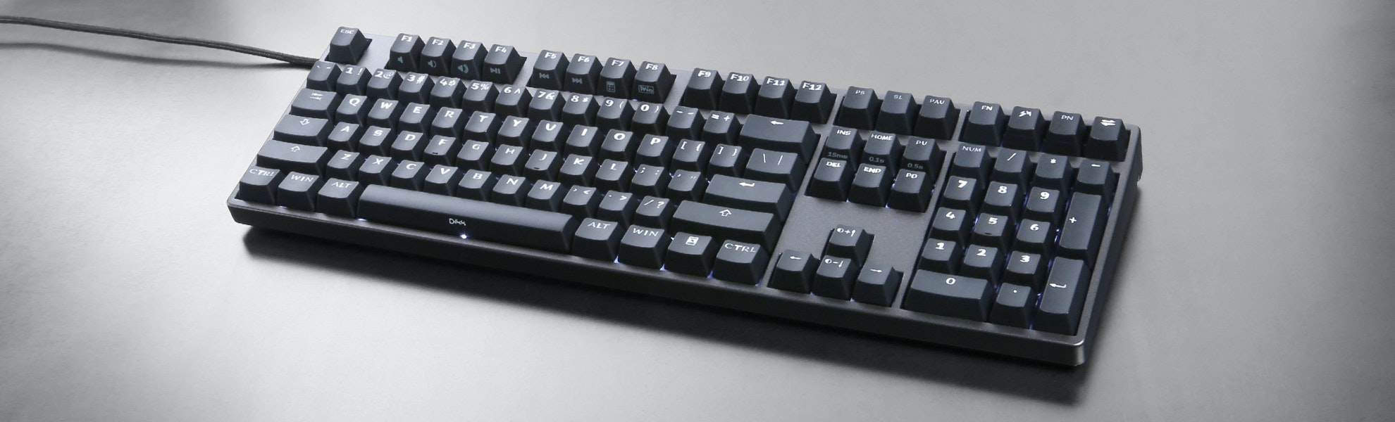 Deck Hassium Pro Keyboard with Palmrest