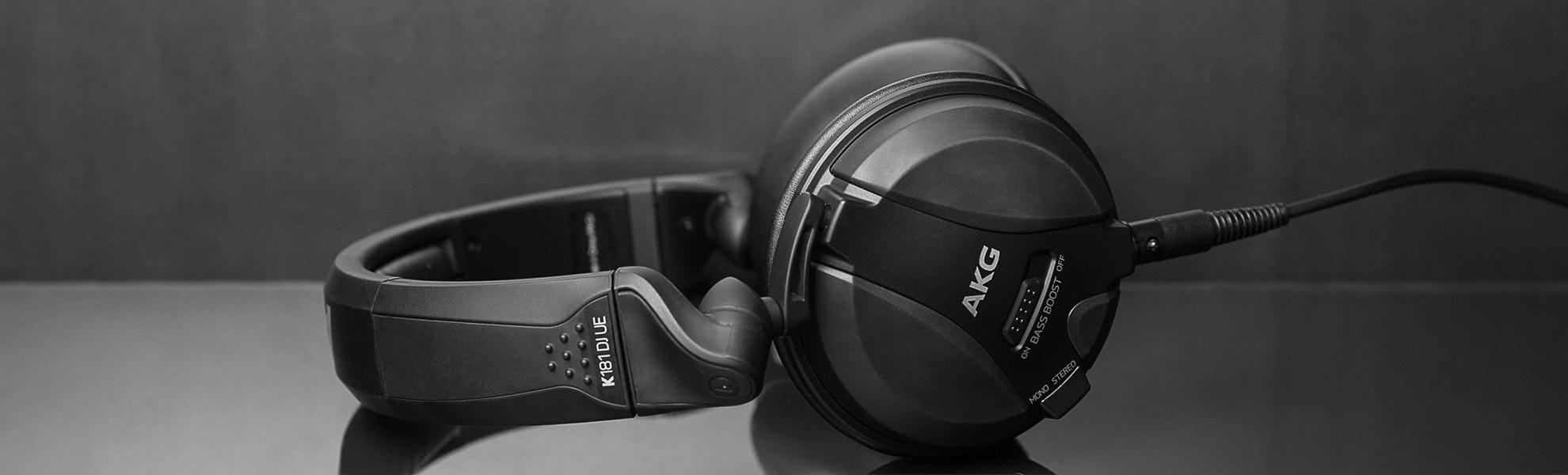 AKG K181 DJ UE Reference Class Headphones