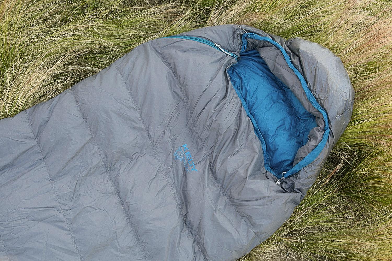 Kelty SB 35 and SB 20 800fp DriDown Bags