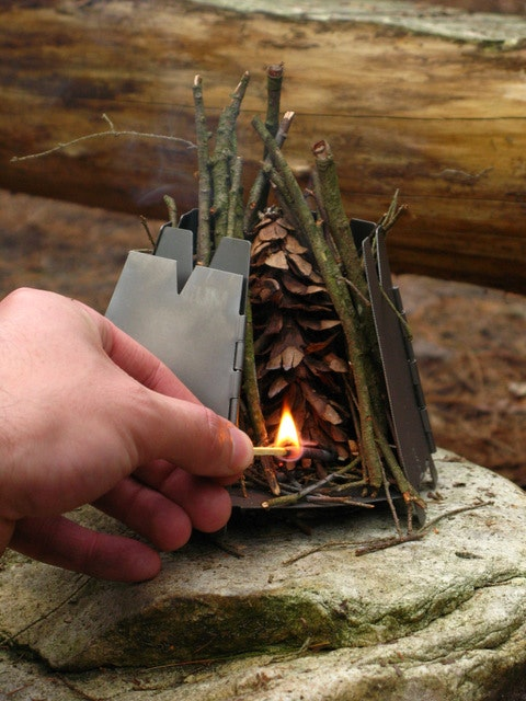 Light the kindling.