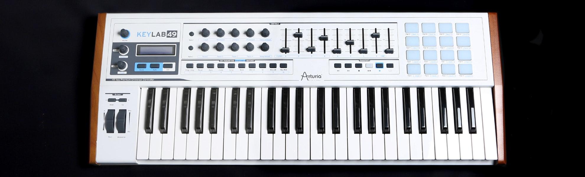 Arturia Keylab 49 Hybrid Synthesizer Producer Pack