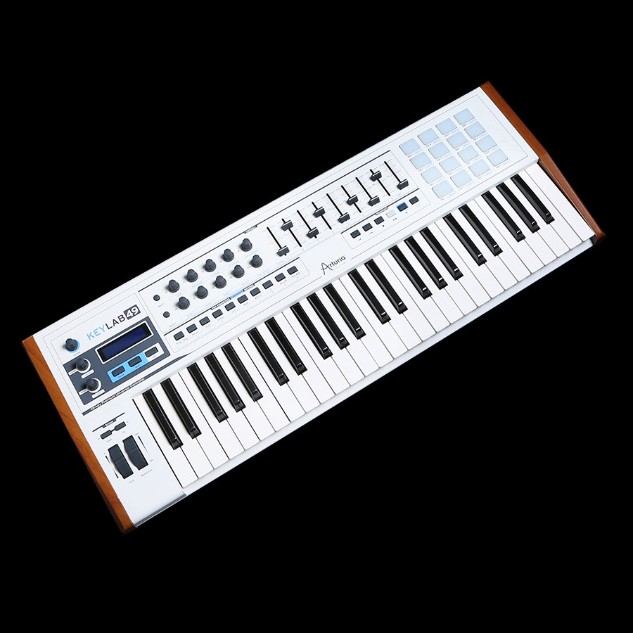 Arturia Keylab 49 Hybrid Synthesizer Producer Pack