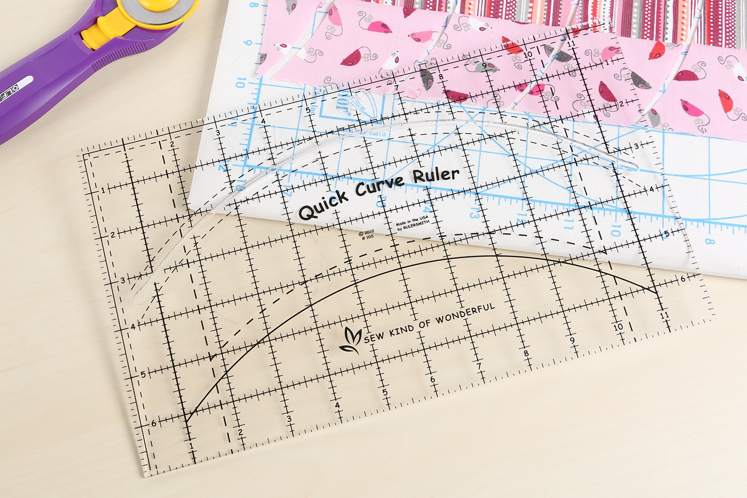 Quick Curve Ruler and Patterns