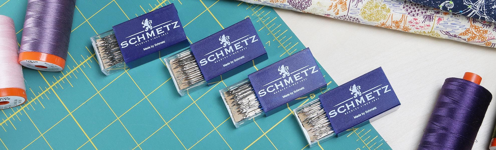 Schmetz Microtex Needles (100/box)