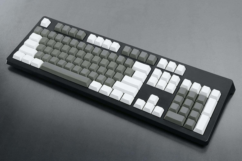 Dark Gray / White