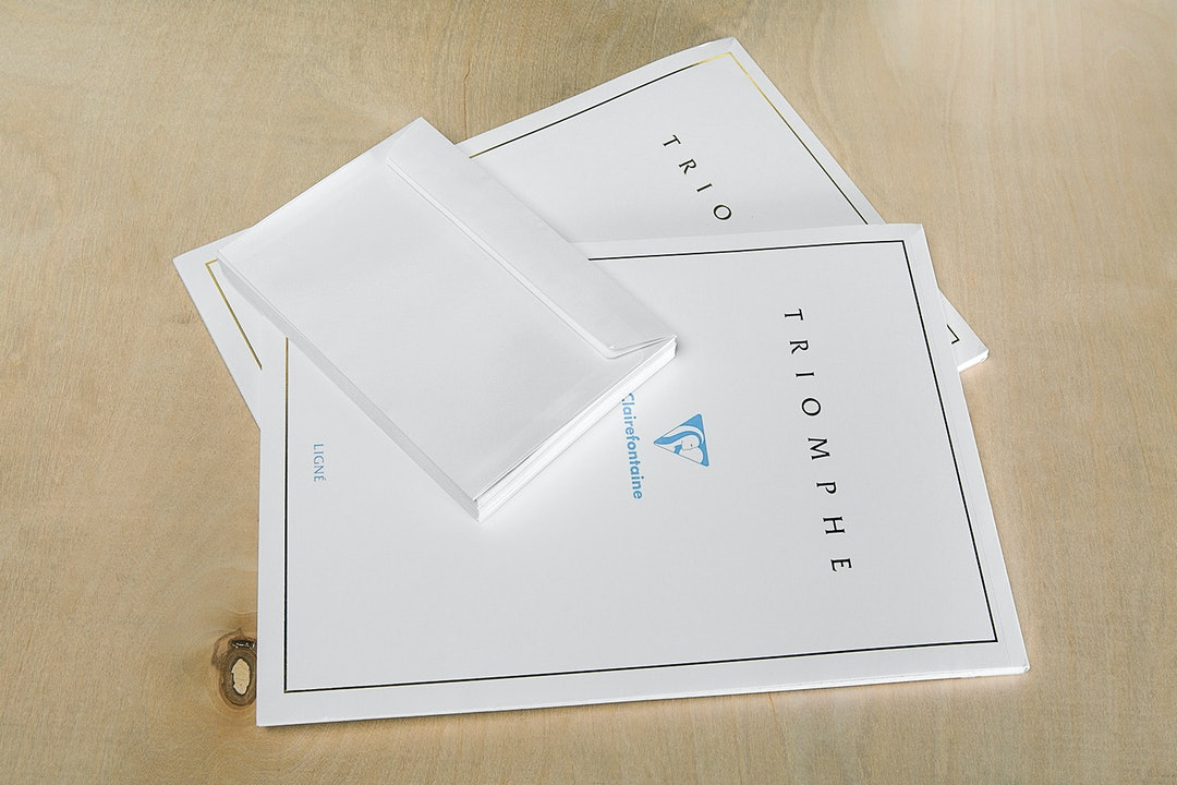 Clairefontaine Triomphe Stationery Set