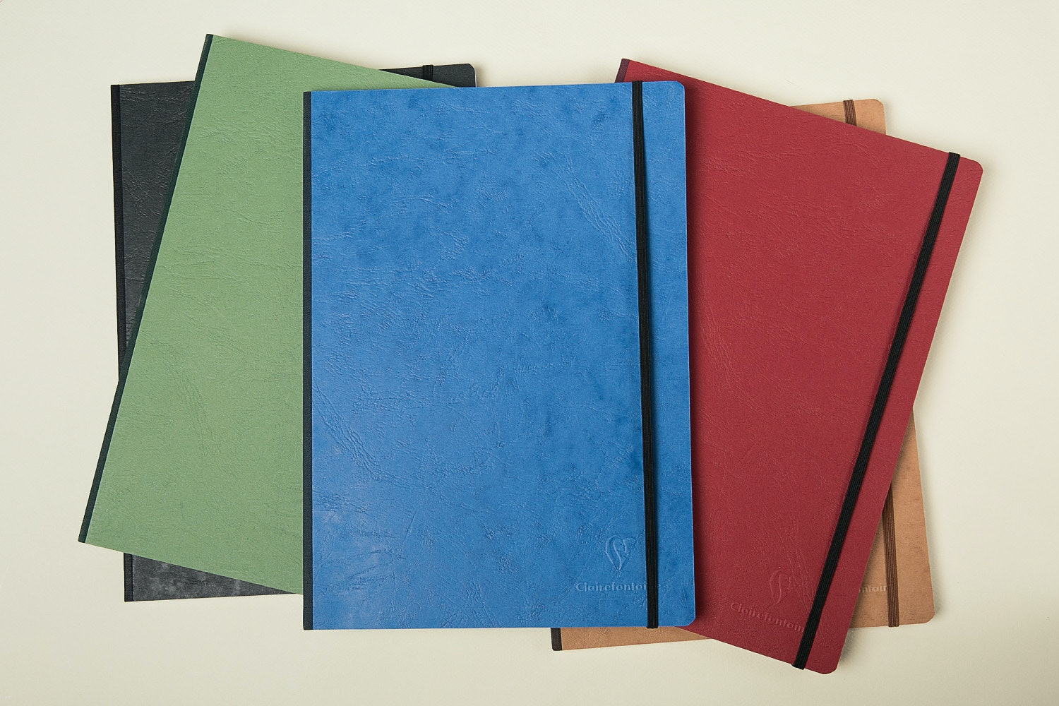 Clairefontaine A4 Basic Clothbound (3-Pack)