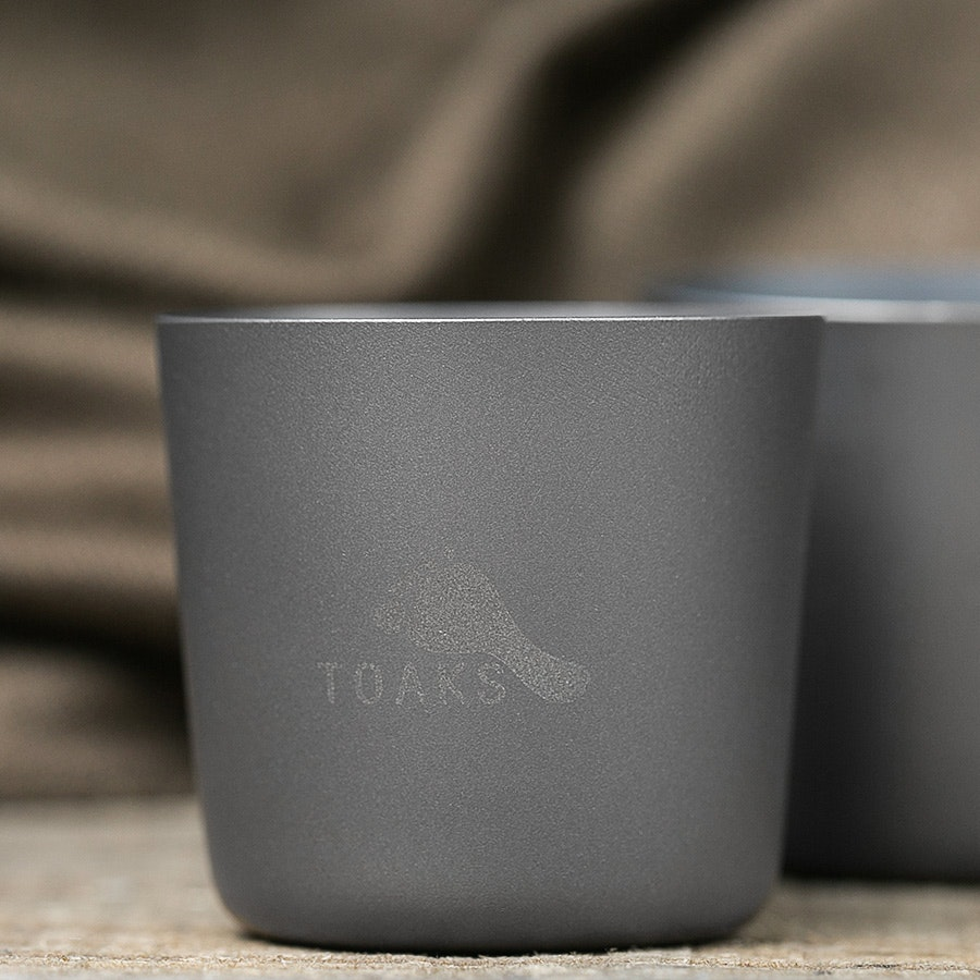 Toaks Titanium Shot Glasses (4-Pack)