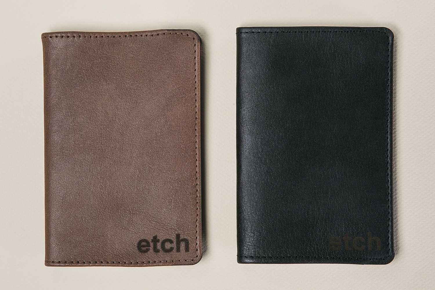 "Allegory ""Etch"" Kangaroo Leather Journal"