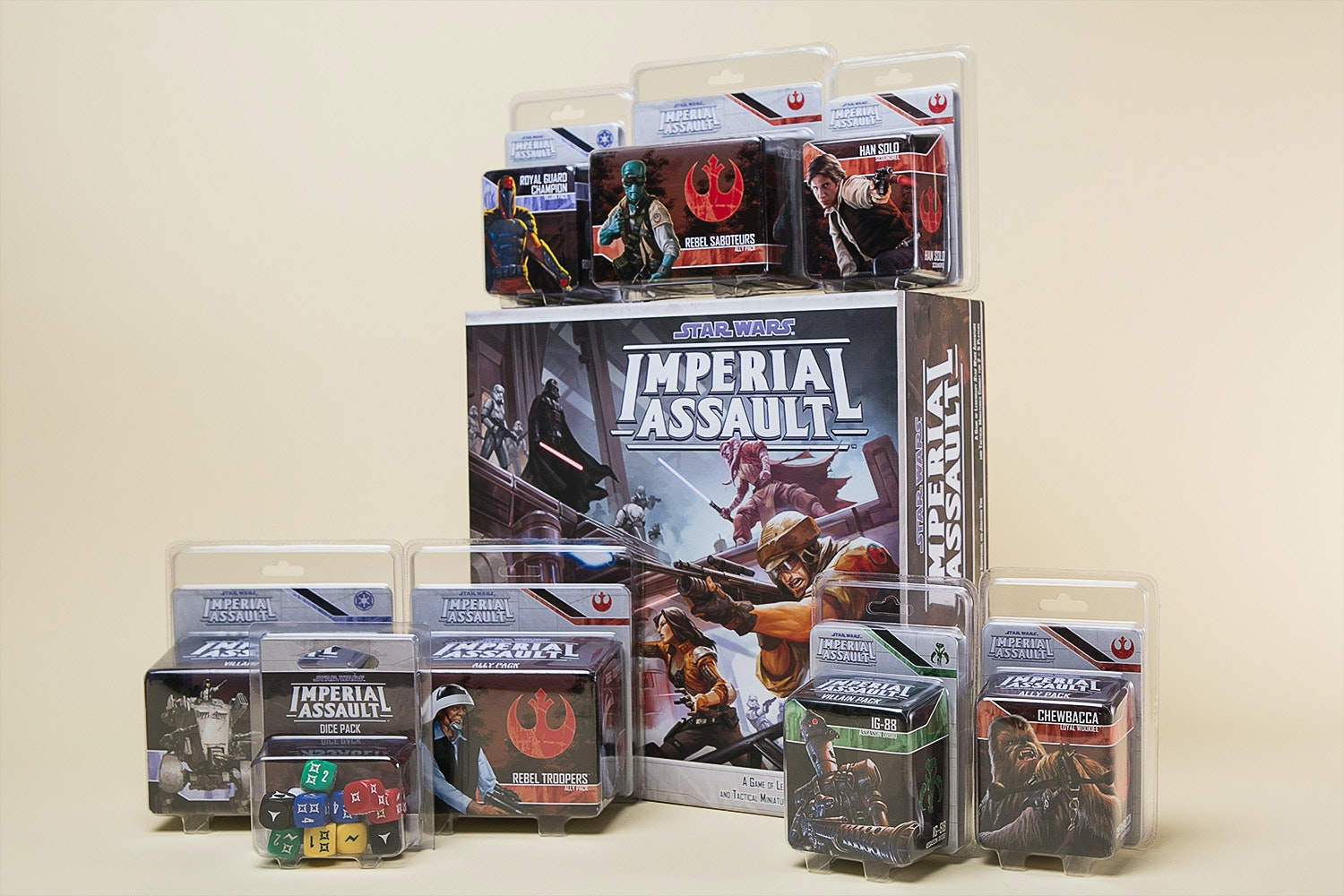 Star Wars Imperial Assault Bundle