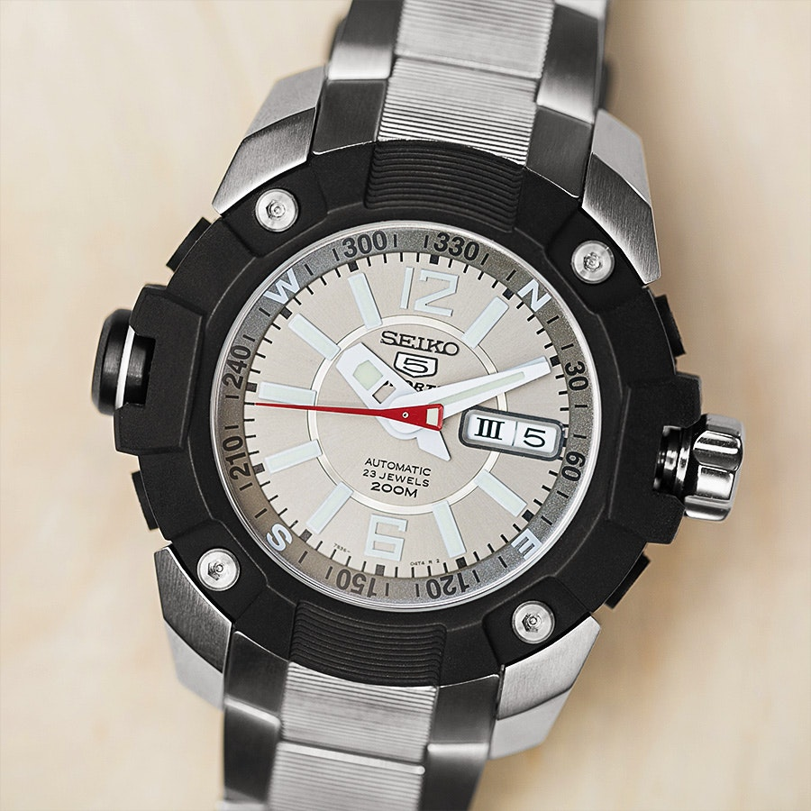 Seiko 5 Sport SKZ Watch