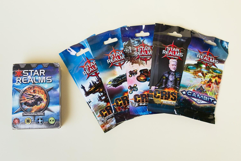 Star Realms Deckbuilding Game: Complete Set