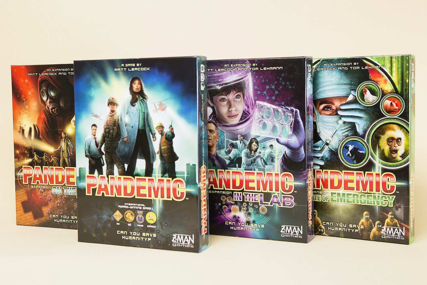 Pandemic Board Game Bundle