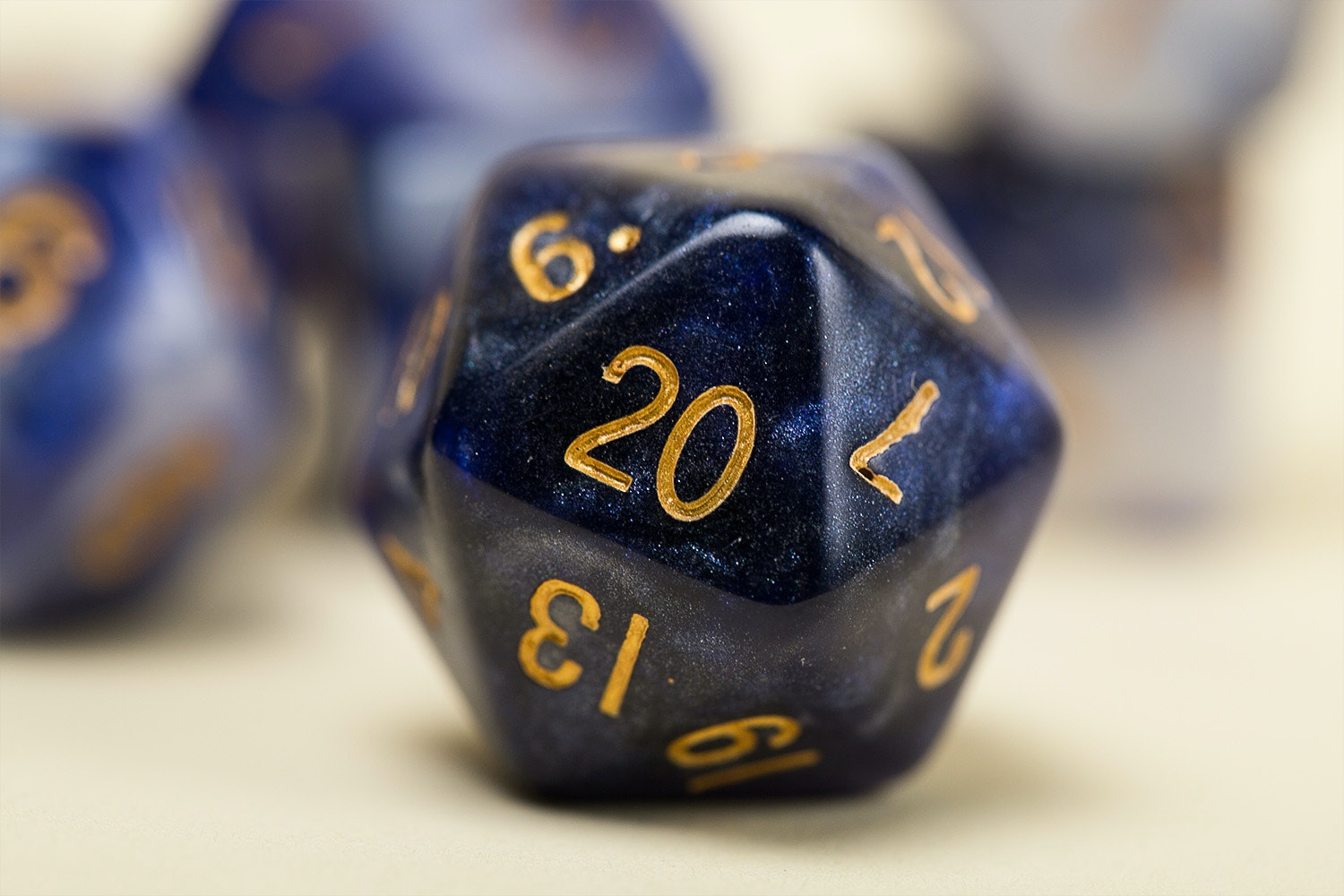 Acrylic Polyhedral Dice Set (3-Pack)