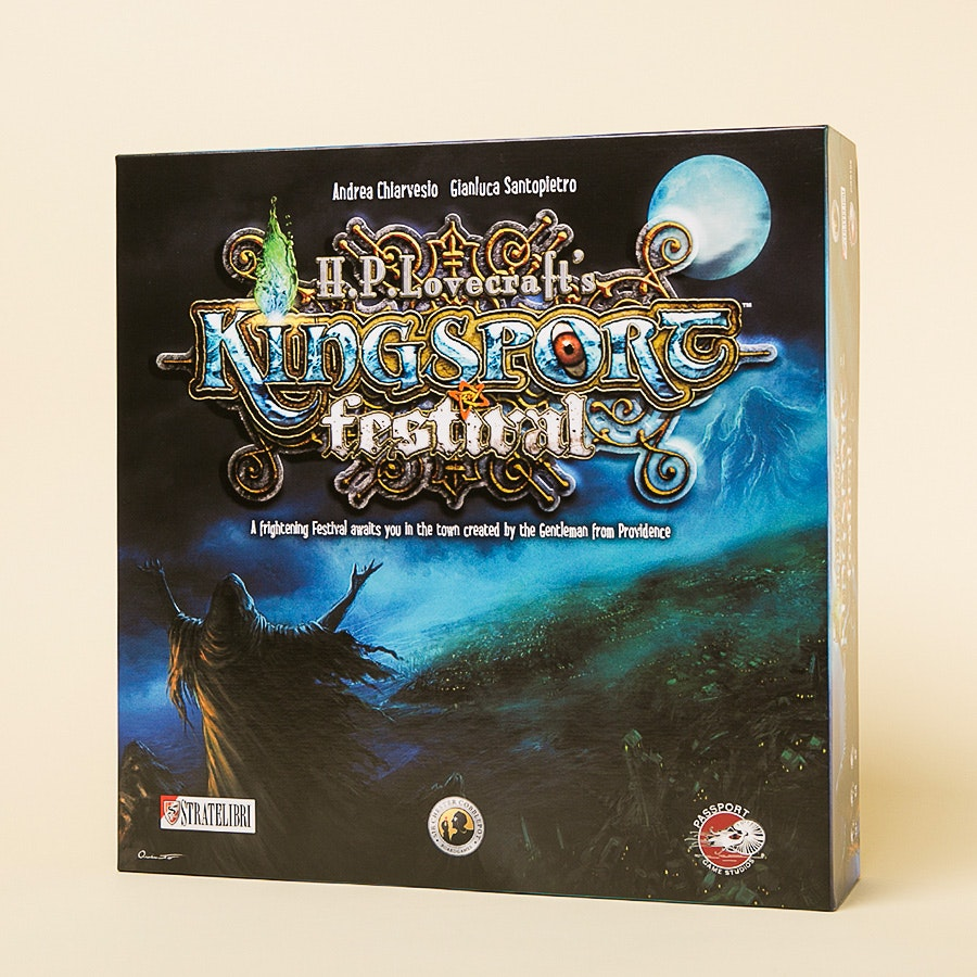 Kingsport Festival Board Game