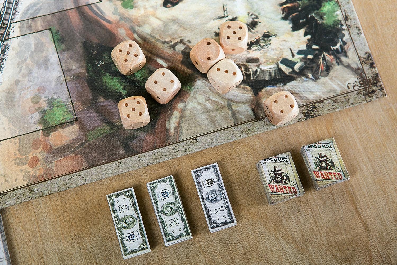 Deadwood Board Game