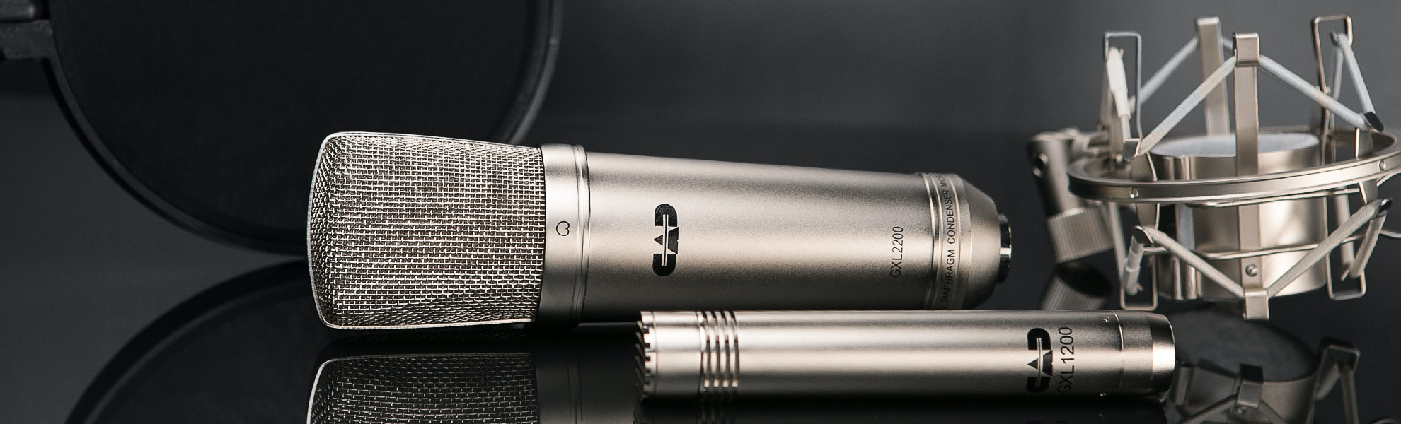 CAD GXL2200SSP 3 Microphone Studio Pack
