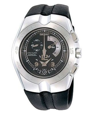 SNL031P1 Black dial, Leather strap