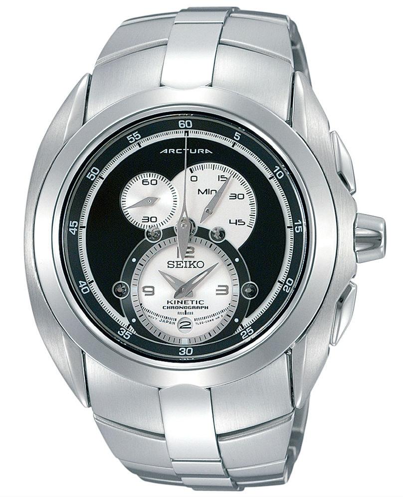 SNL047P1 Black dial, Steel bracelet (+$20)