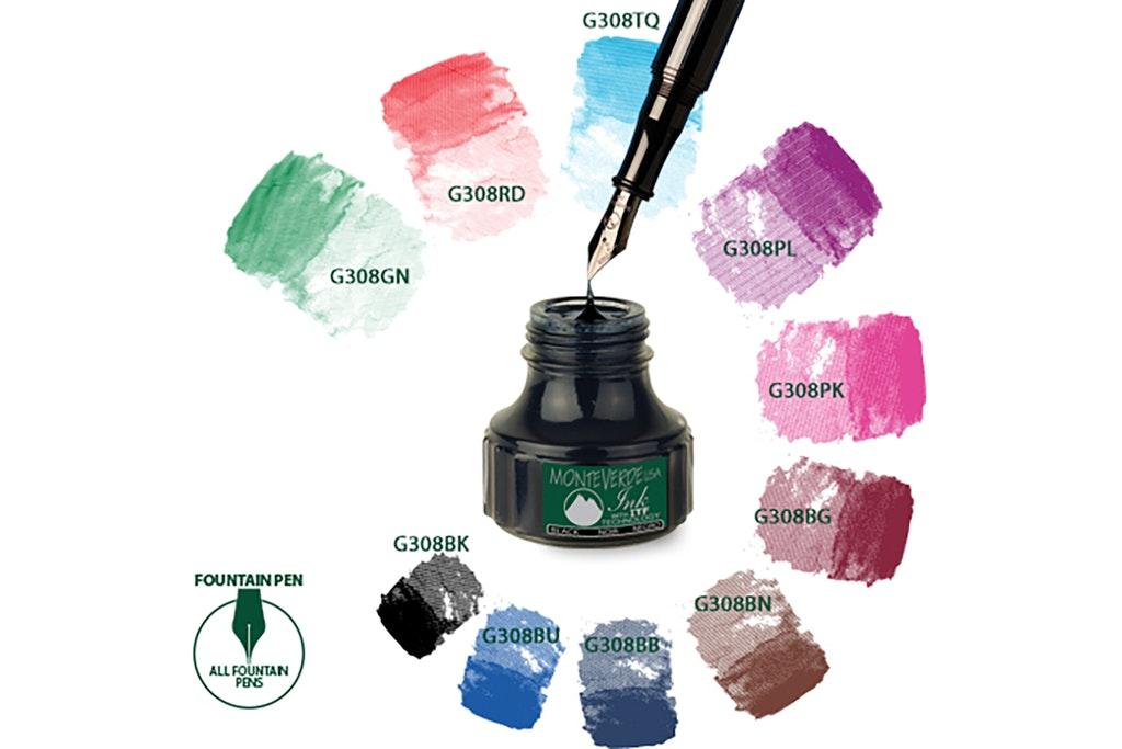 Monteverde Bottled Ink (4-Pack)