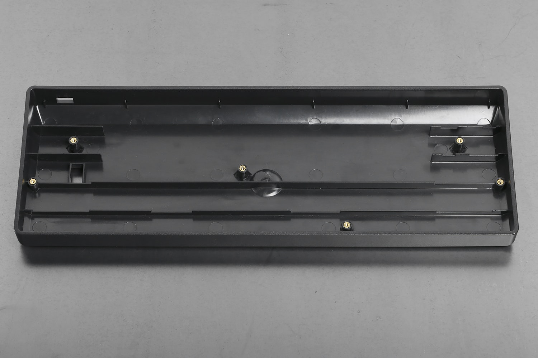 Plastic Injection Molded Black