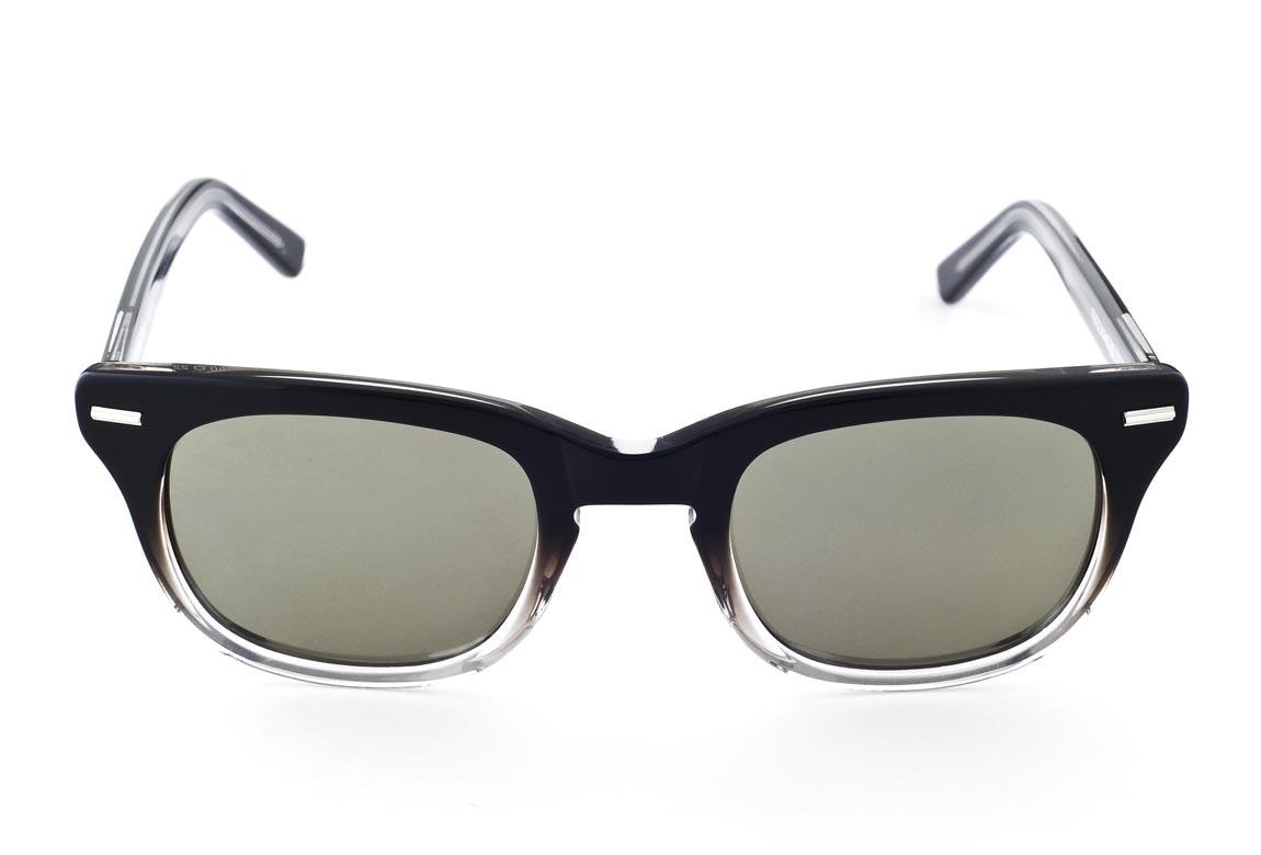 Black Fade with Green/Gray Lenses