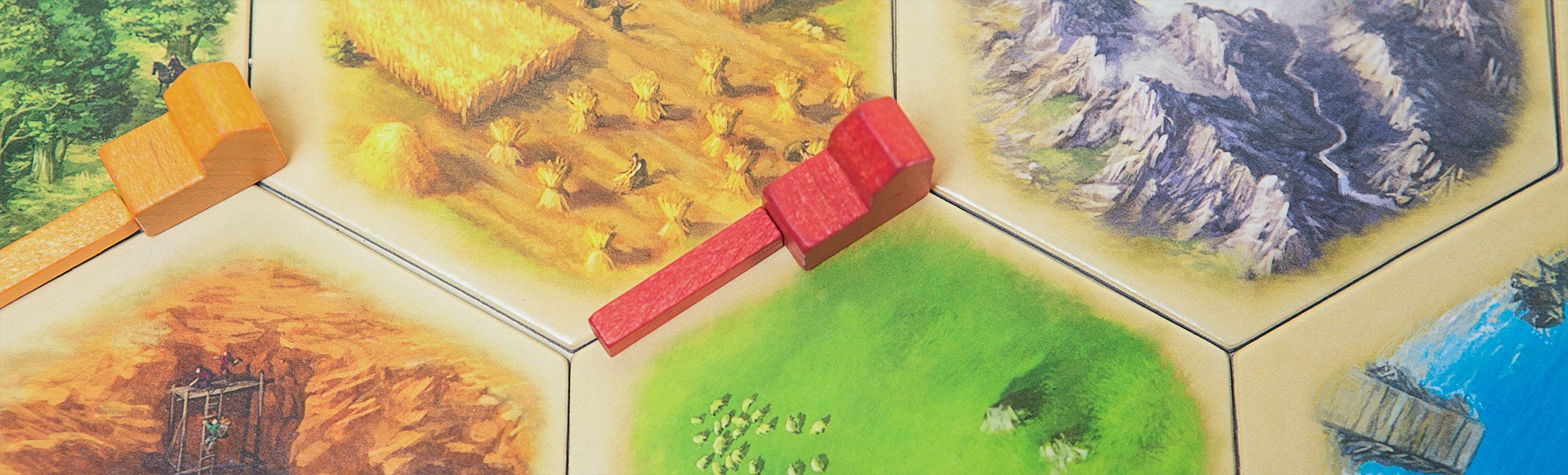 Settlers of Catan 5th Edition 4-pack