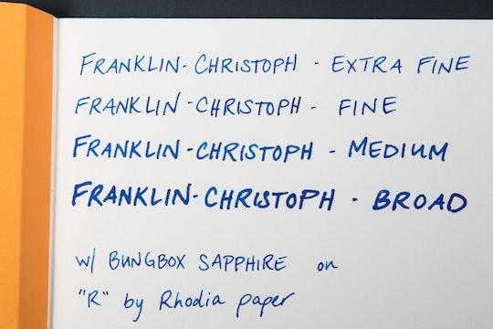 Franklin-Christoph Pocket 40 - Massdrop Exclusive