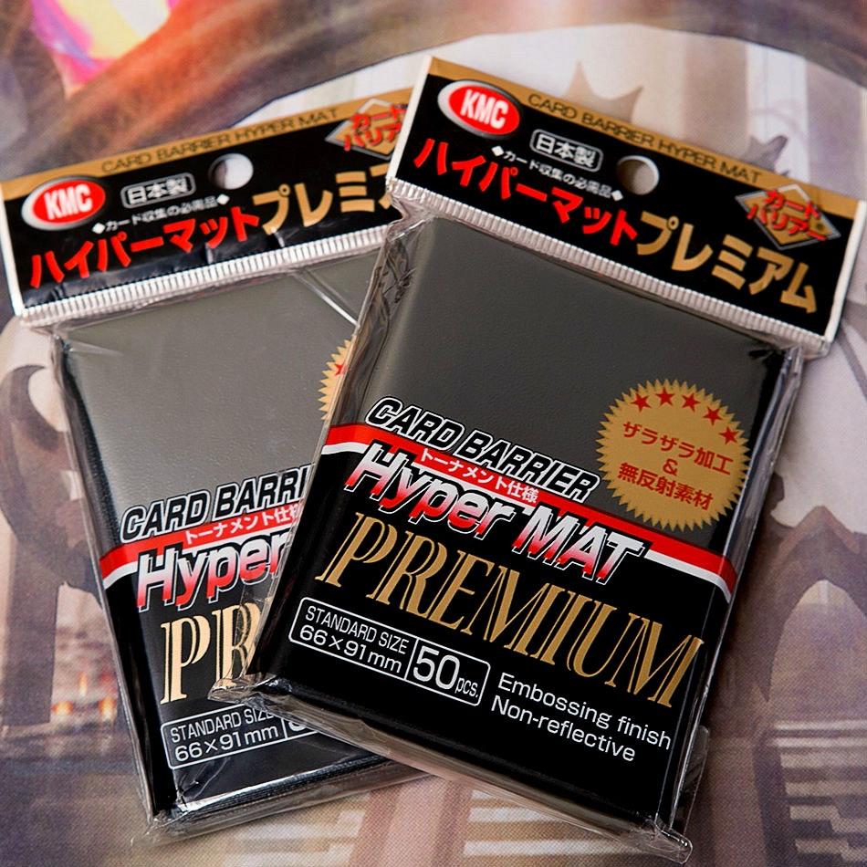 KMC Hyper Mat Premium Sleeves (6-Pack)