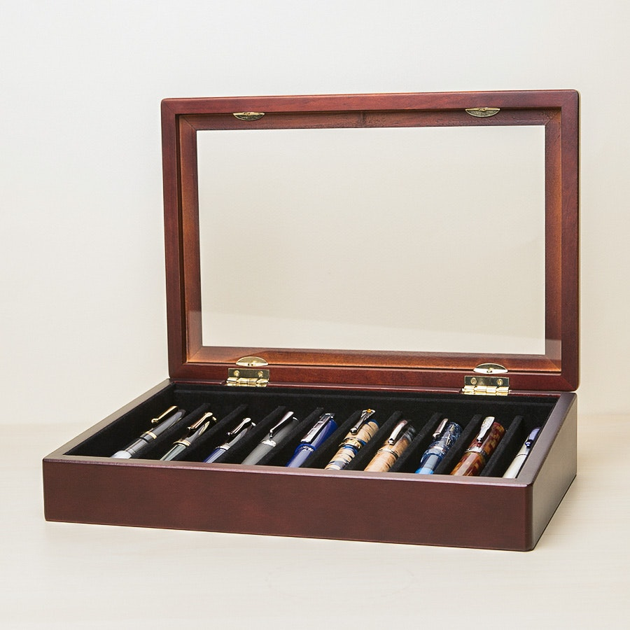 Lanier 10-Pen Display Case