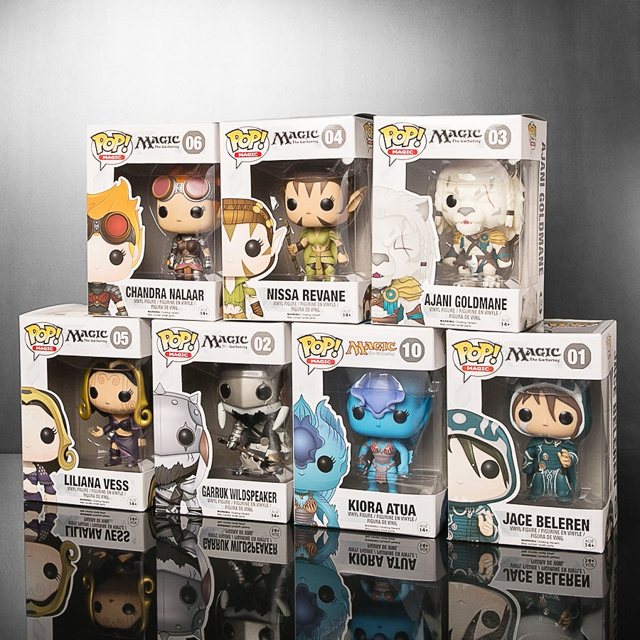 MtG Funko Pop! Planeswalker Bundle