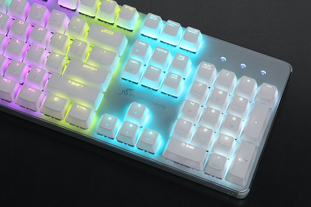 FL-ESPORTS GT104 RGB Mechanical Keyboard