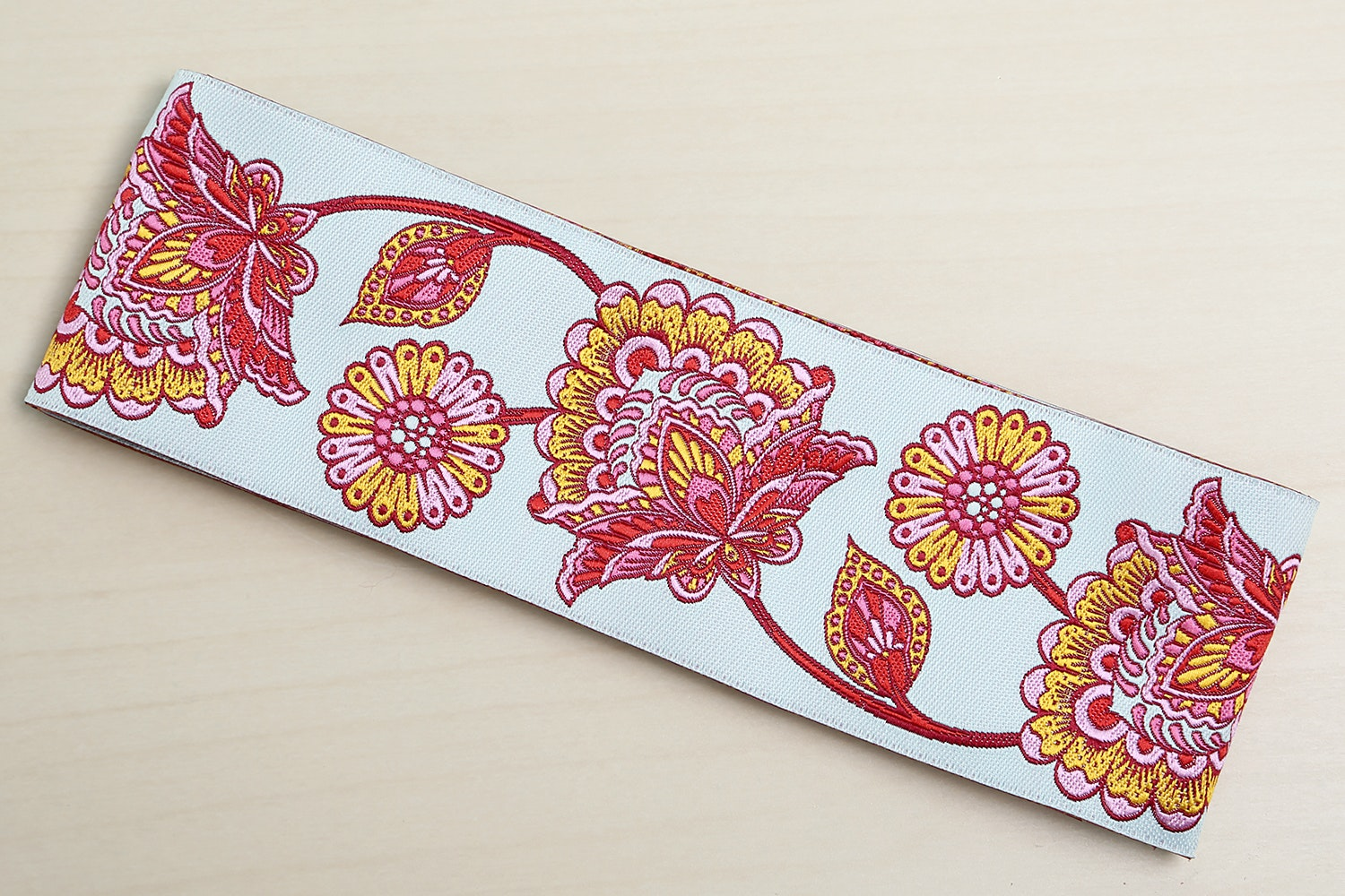 """Strawberry Deer Me Flower by Tula Pink - 2"""" (48 mm) wide (+$1)"""