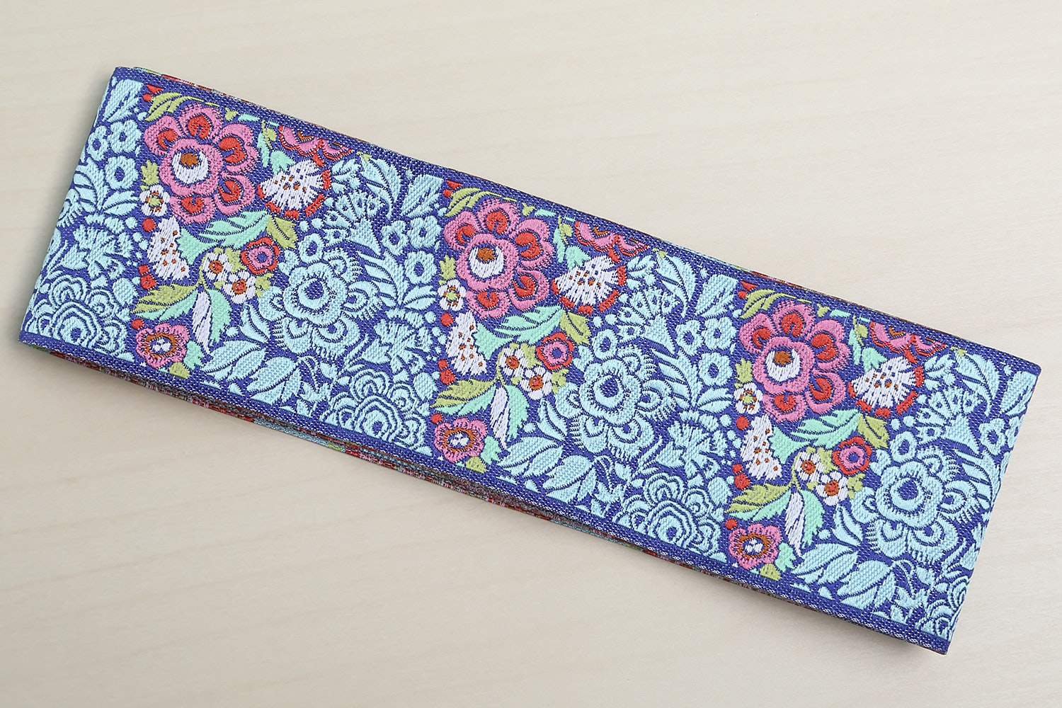 """Blue Blossom Pyramid by Amy Butler - 2"""" (48 mm) wide (+$1)"""