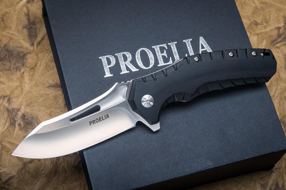 Proelia Knives Tactical Folders (Drop or Tanto)