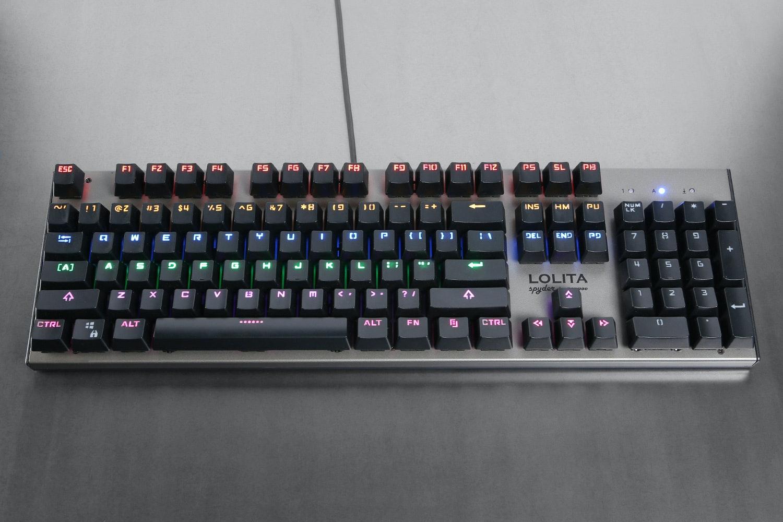 Noppoo Lolita Spyder Rainbow LED Keyboards