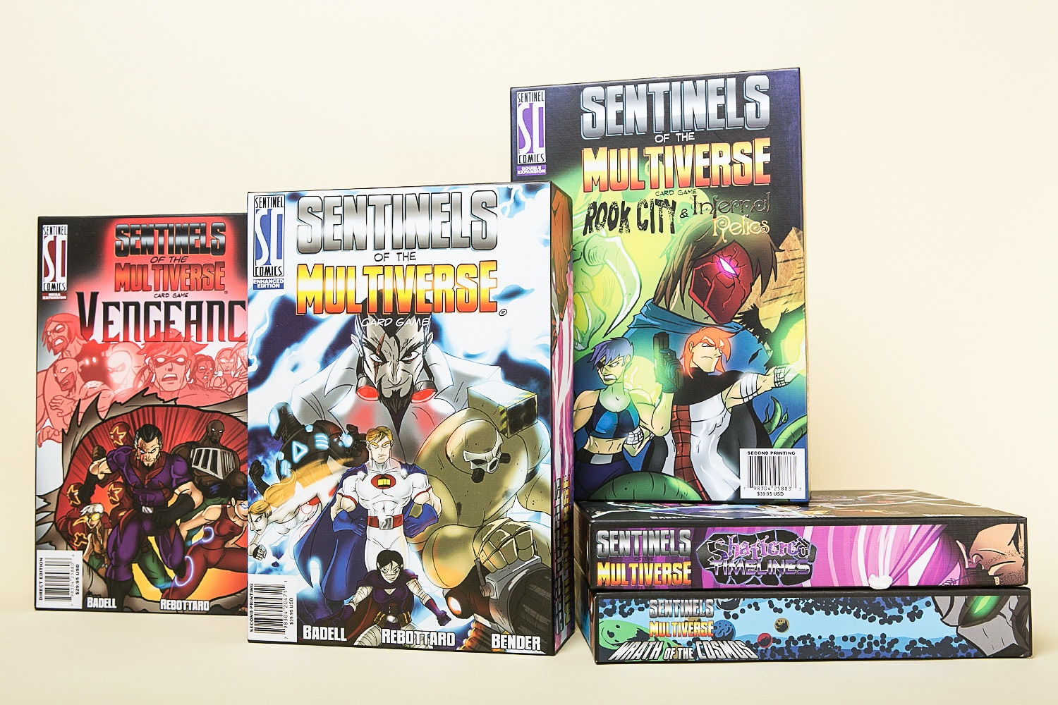 Sentinels of the Multiverse Card Game Collection