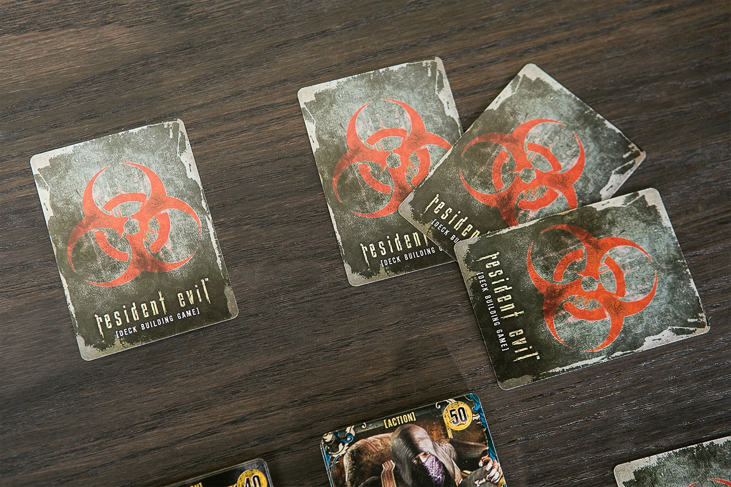 Resident Evil Deck Building Game Bundle