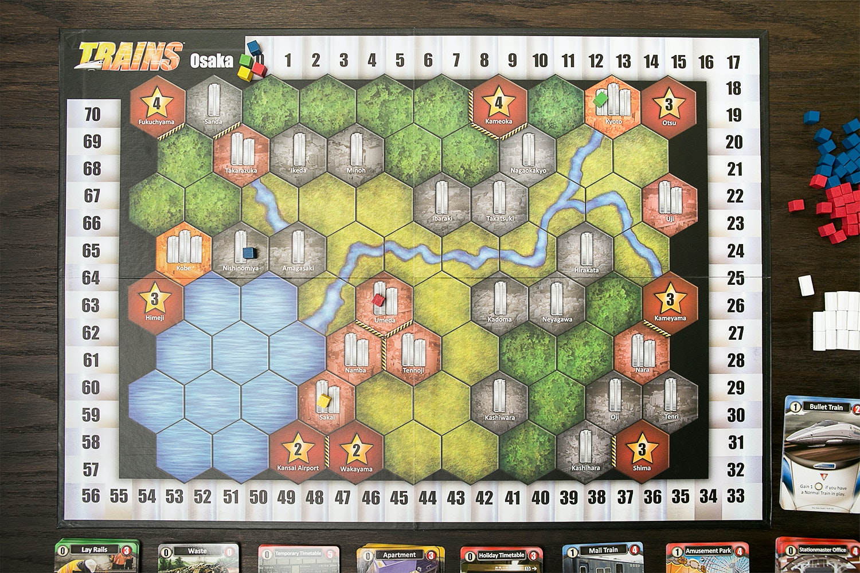 Trains Board Game Bundle