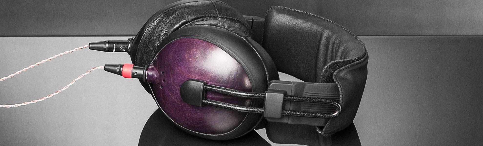 ZMF x Vibro Purple Galaxy Exclusive Headphone