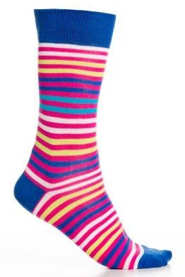 Pink/Navy Stripe