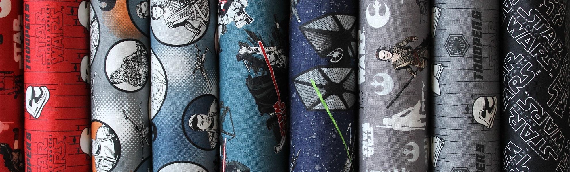 Star Wars: The Force Awakens Fat Quarter Bundle
