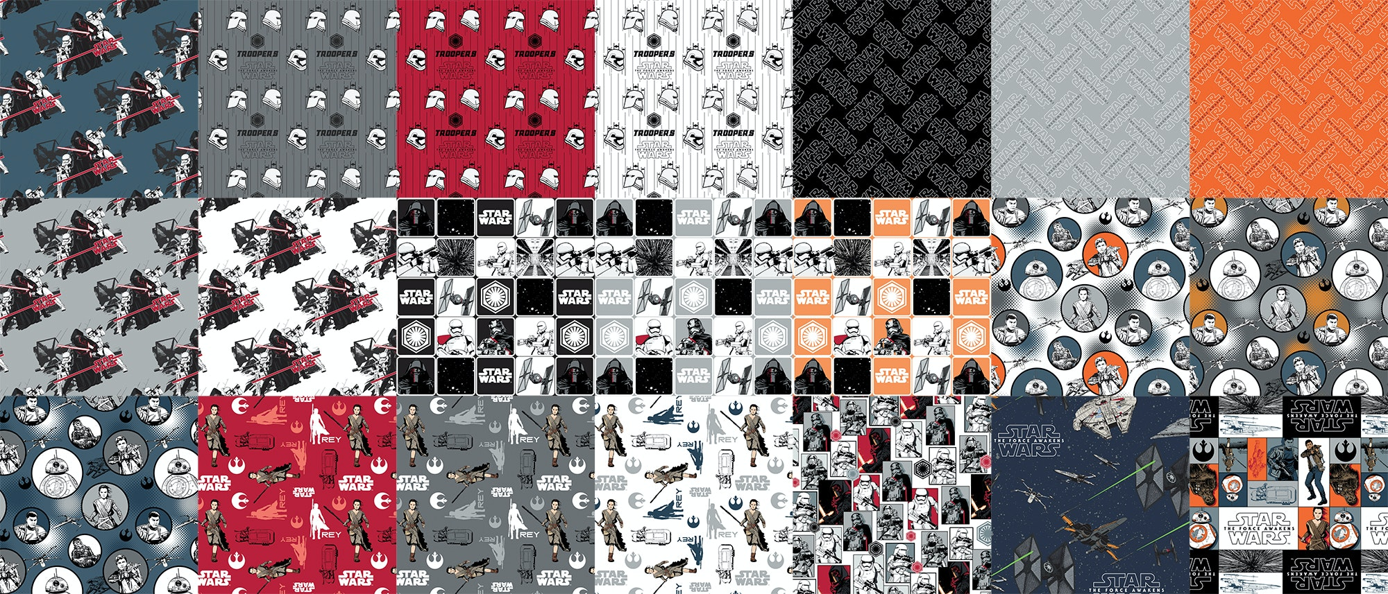 Star Wars: The Force Awakens Fat Quarter Bundle