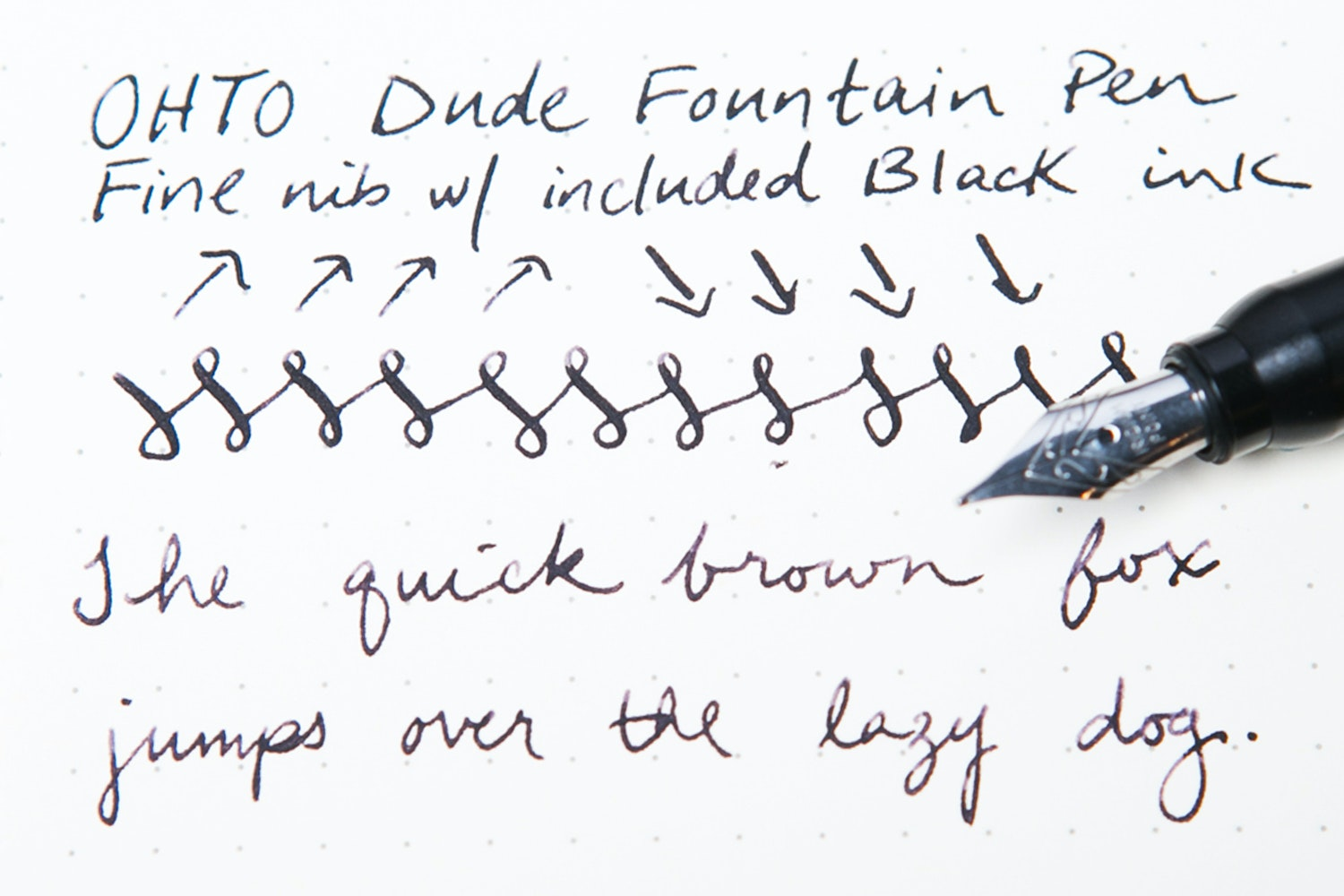 OHTO Dude Fountain Pen (2-Pack)