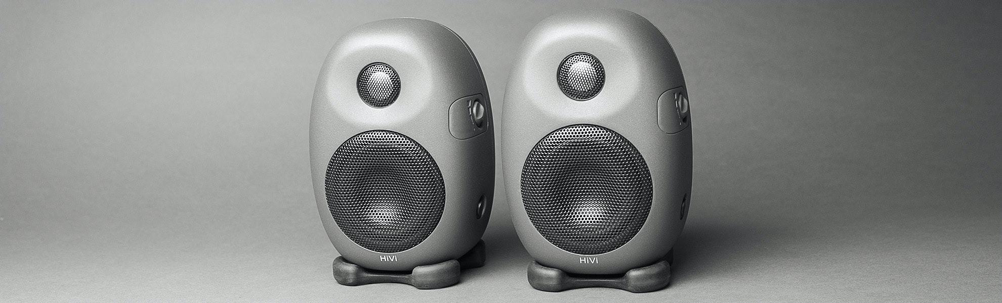 HiVi X3 Desktop Speakers