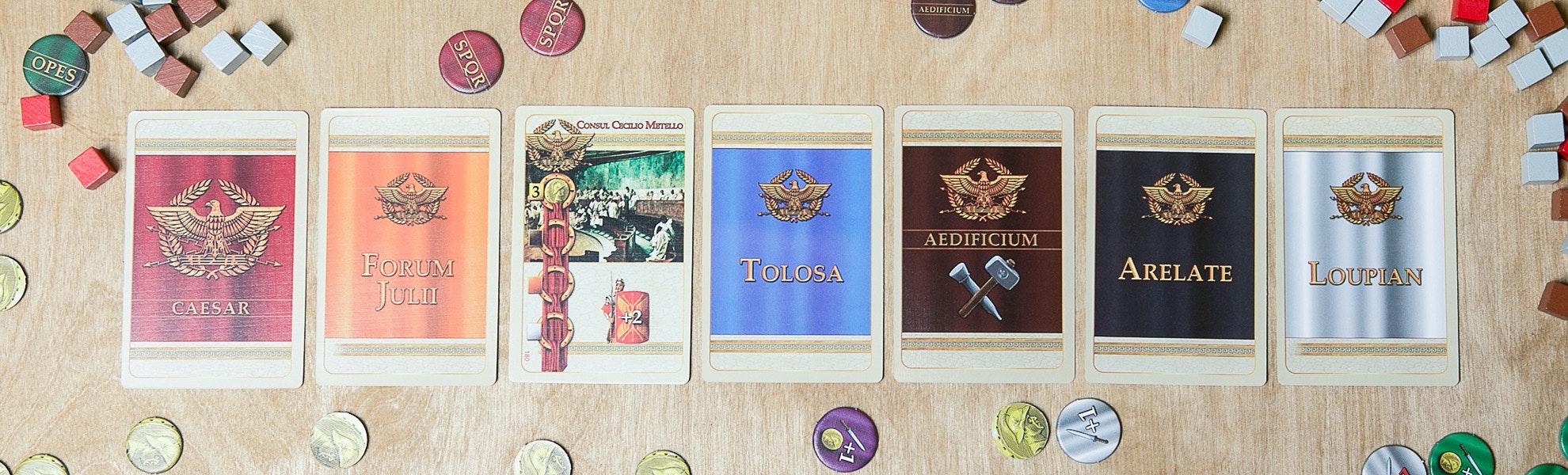 Provincia Romana Board Game