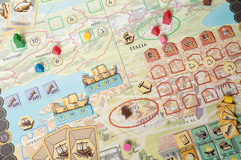 Trajan Board Game