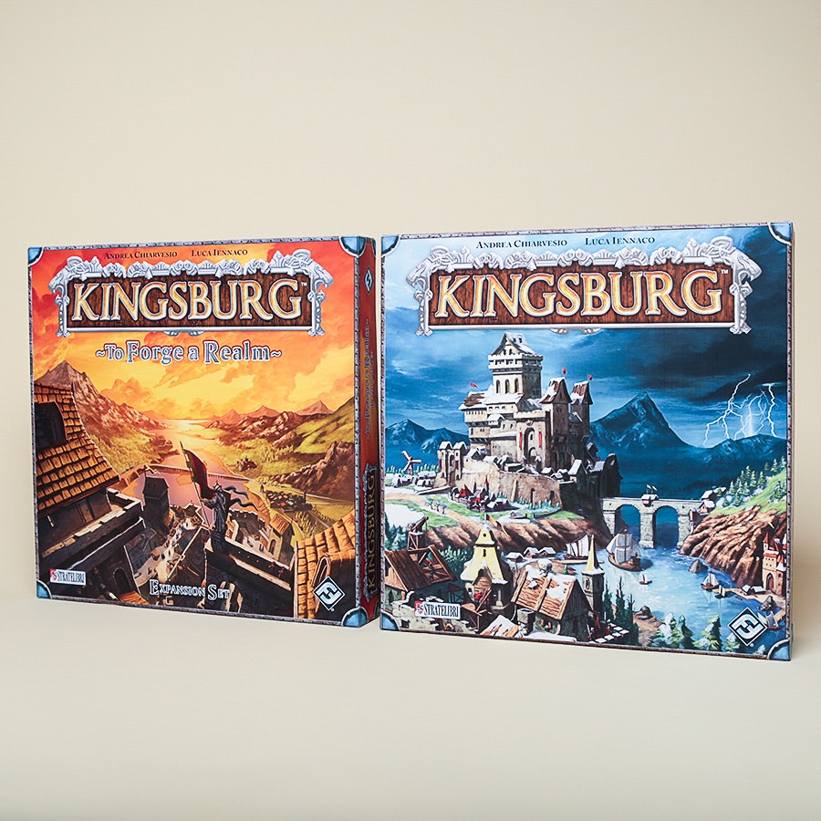 Kingsburg Board Game Bundle