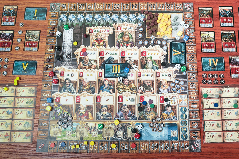 Kingsburg Board Game Bundle