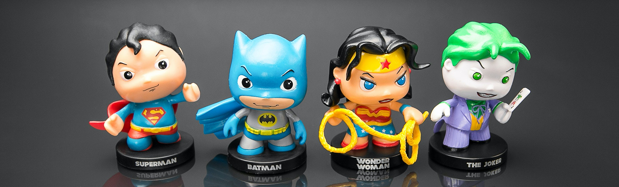 DC Little Mates Figurine Bundle